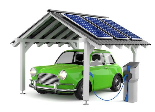 Auto mit Solarstrom laden Berlin