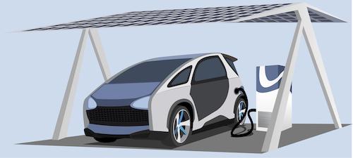 E Auto mit Photovoltaik laden Berlin