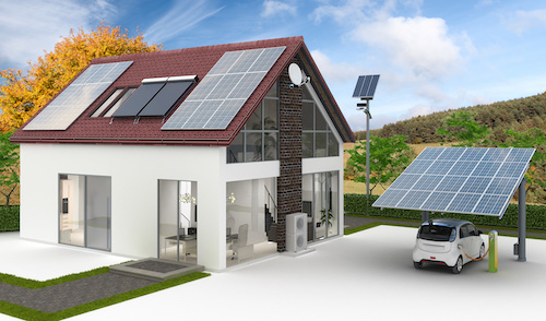 Solar Ladestation für Elektroautos Berlin