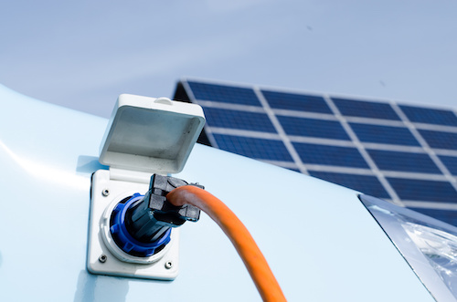 Solaranlage E Auto laden Berlin